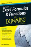 EXCEL FORMULAS AND FUNCTIONS FOR DUMMIES 4E